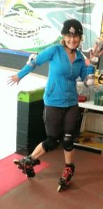 back on skates